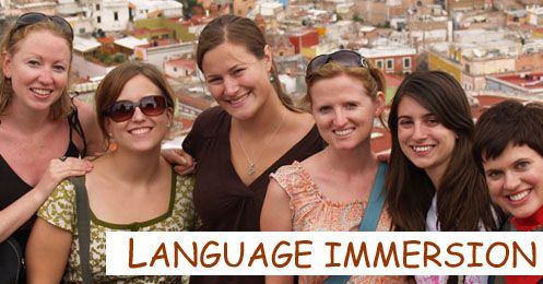 Students on Language Vacation
