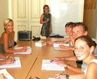 learn french in Montpellier France