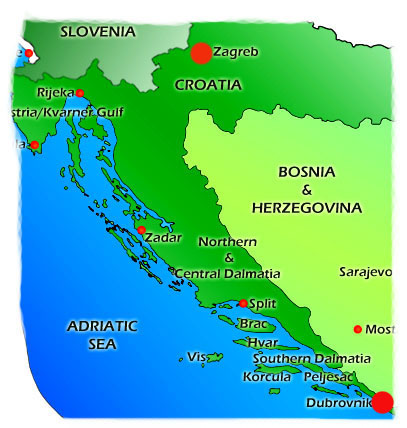 Croatian language course. Learn the Croatian language in Croatia